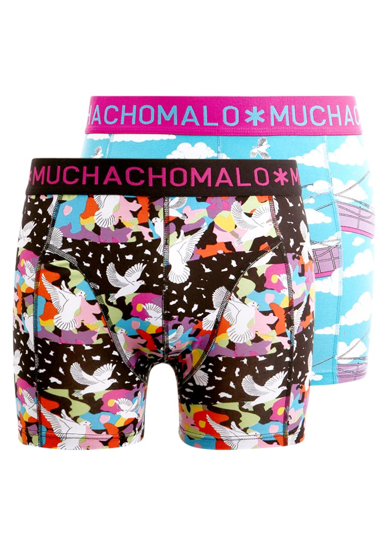 MUCHACHOMALO SHORT PRINT 2 PACK Panty multicolor - 1010DOVESX04