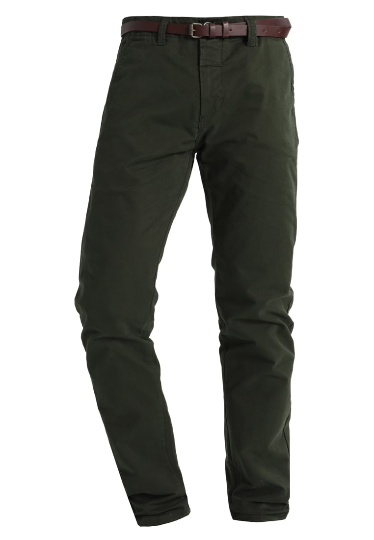 Dstrezzed Chinosy dark green - 501146