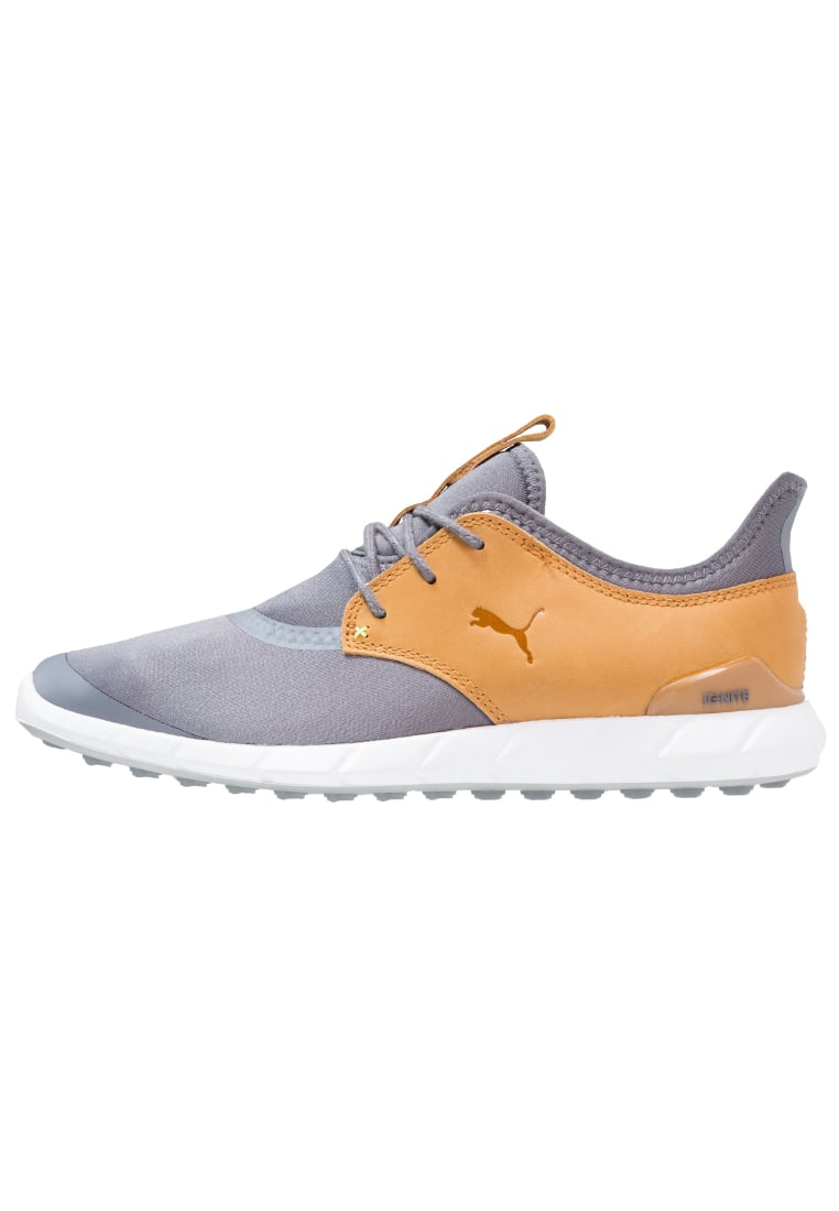 Puma Golf IGNITE SPIKELESS Buty do golfa smoked pearl/cathay spice - 460023