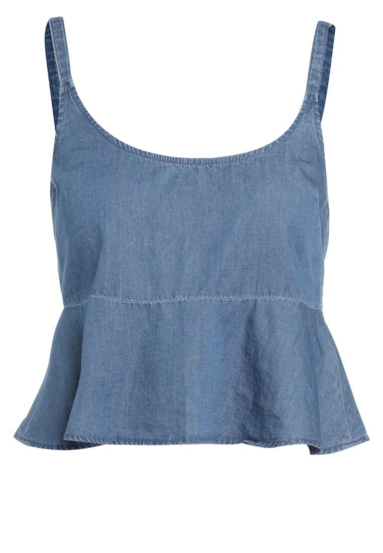 The Fifth Label ODYSSEY Bluzka washed out indigo - TB170202T