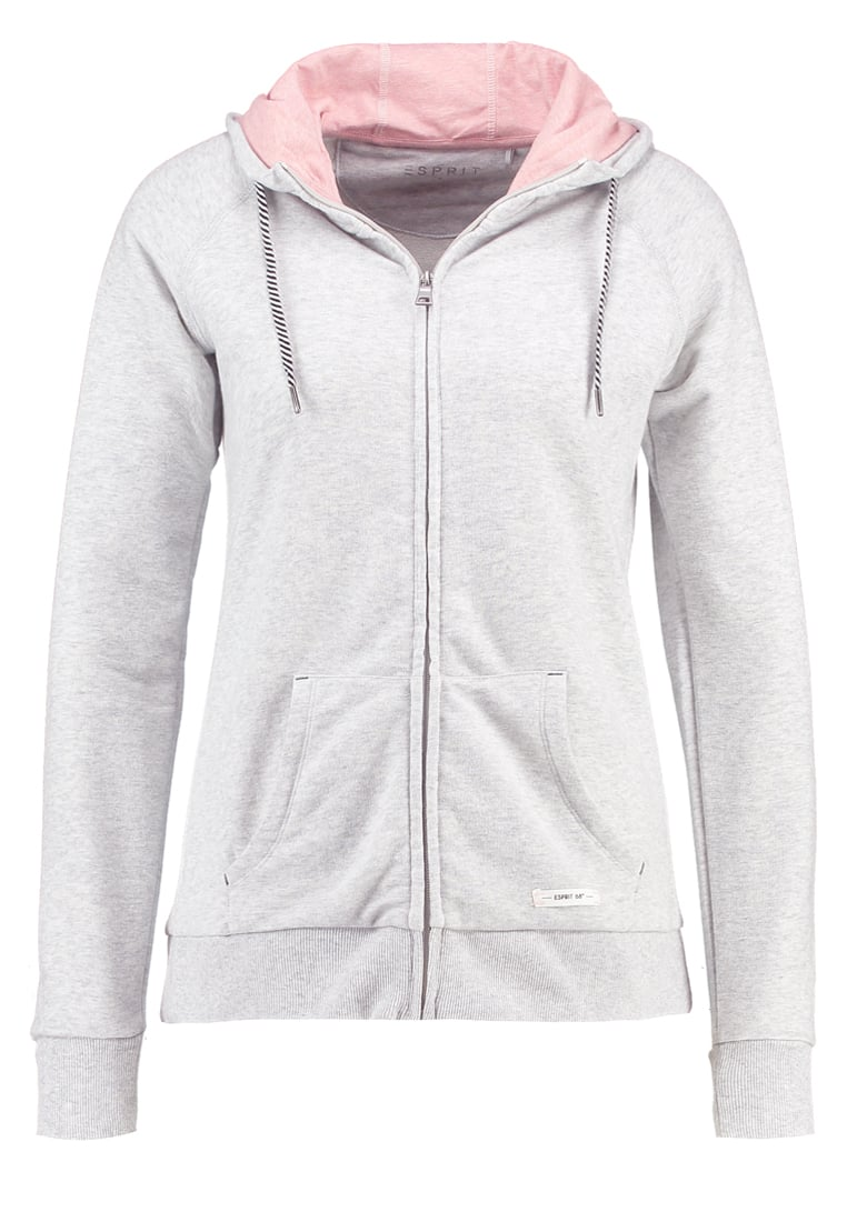 Esprit Sports Bluza rozpinana light grey - 017EI1J008