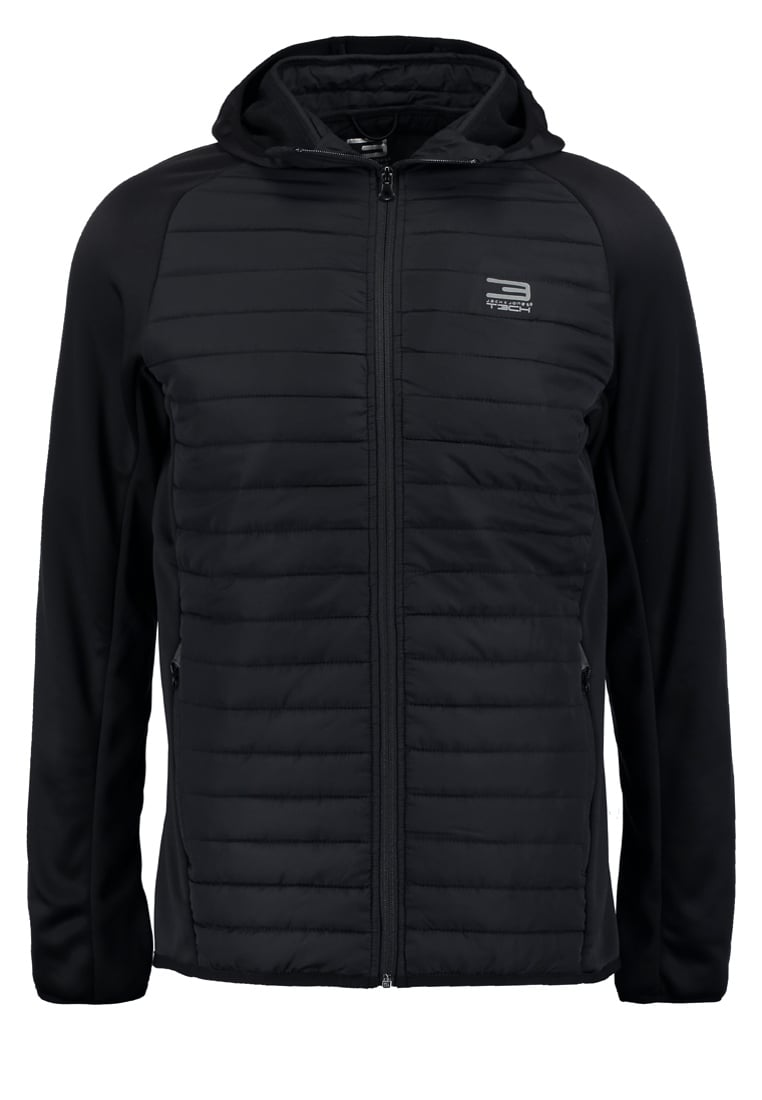 Jack & Jones Tech JJMULTI Kurtka Outdoor black - 12110590