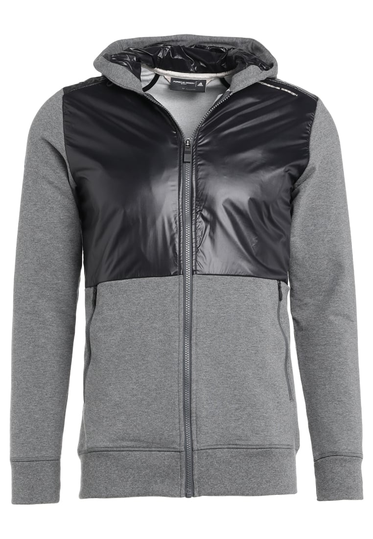 Porsche Design Sport by adidas Bluza rozpinana dark grey heather/black - BR9363