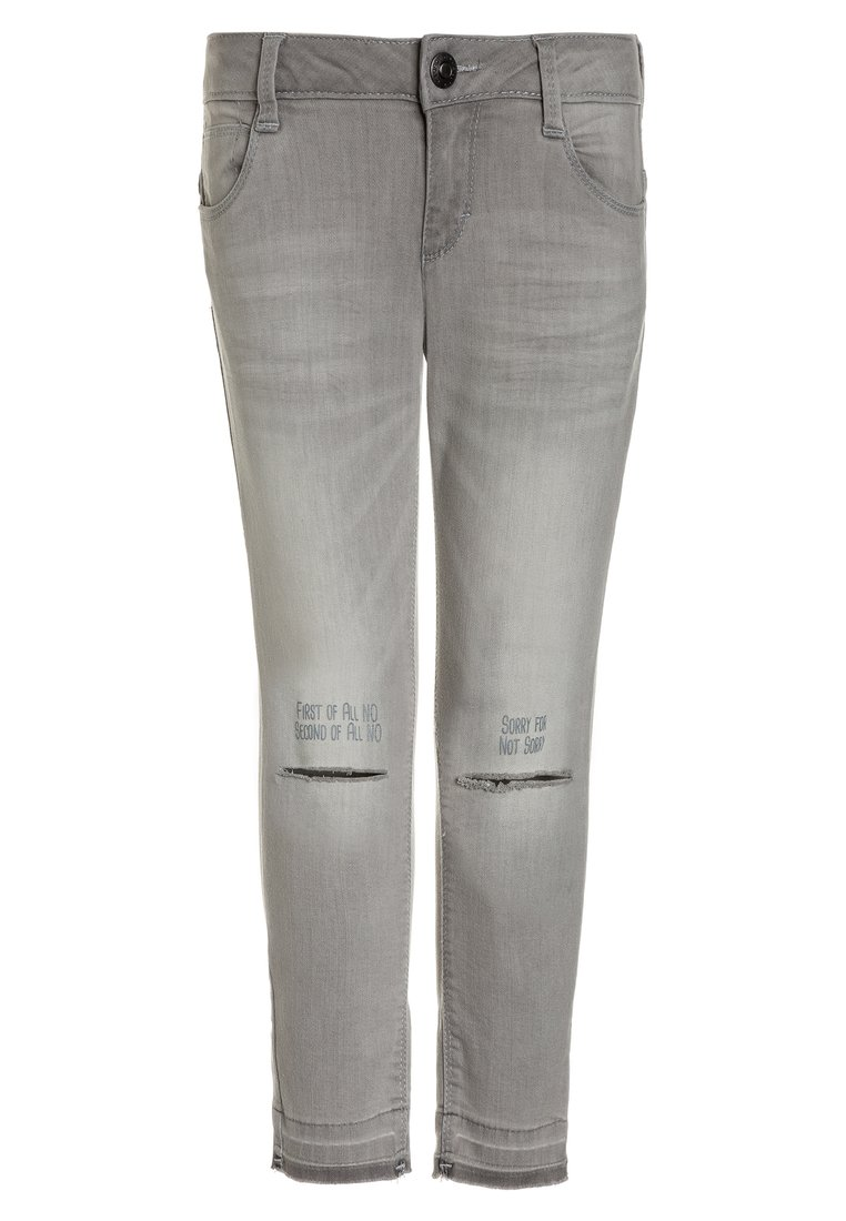 GEORGE GINA & LUCY girls CANNES Jeansy Slim Fit bleached grey - 50550