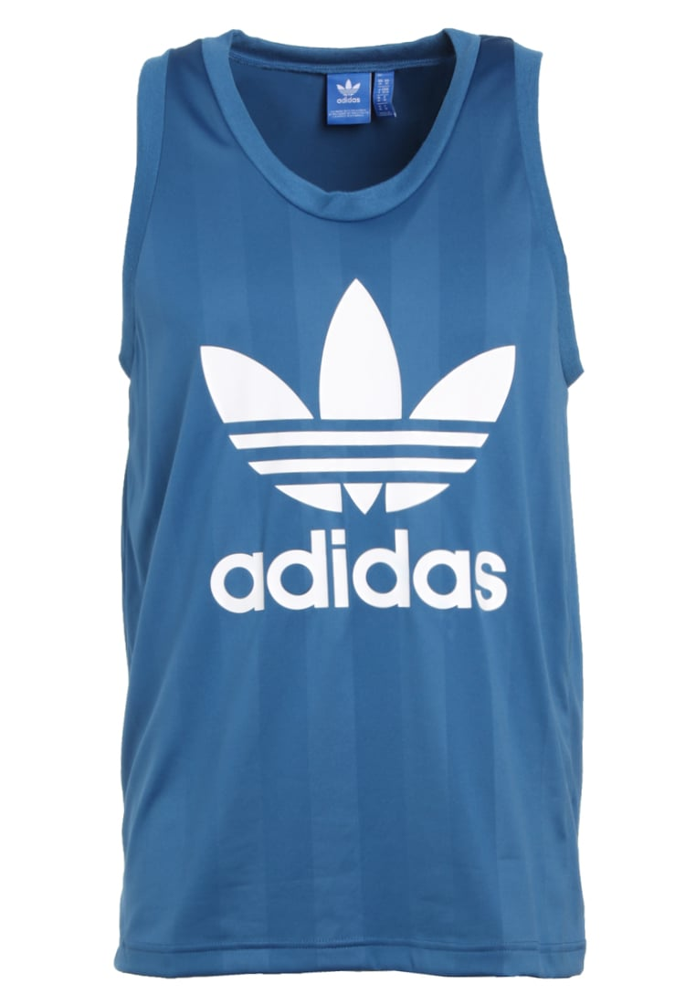 adidas Originals TREFOIL Top corblu - EJZ95