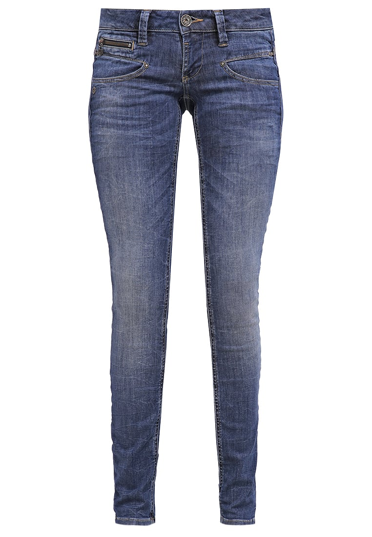 Freeman T. Porter ALEXA Jeansy Slim fit flexy blue - Alexa Slim S-SDM 00025638-443