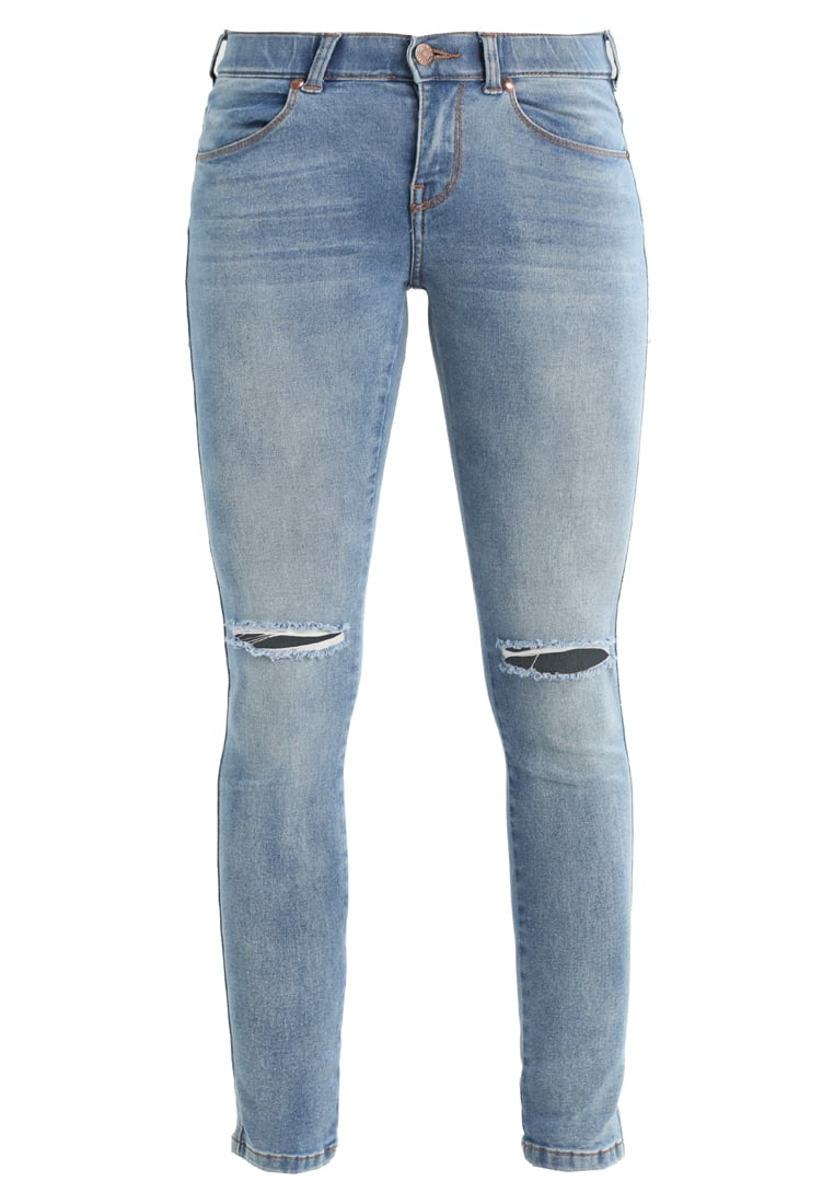 Dr.Denim Petite Jeans Skinny Fit light stone destroyed - Dixy