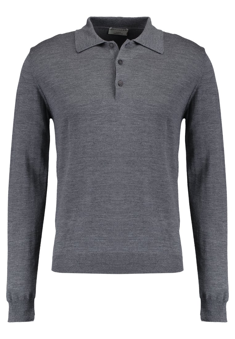 Éditions MR MAXIME Sweter grey - 0404-T710-GREY