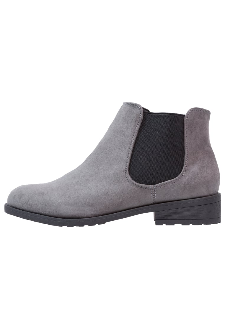 New Look Wide Fit DANIELLE Ankle boot mid grey - 3807424