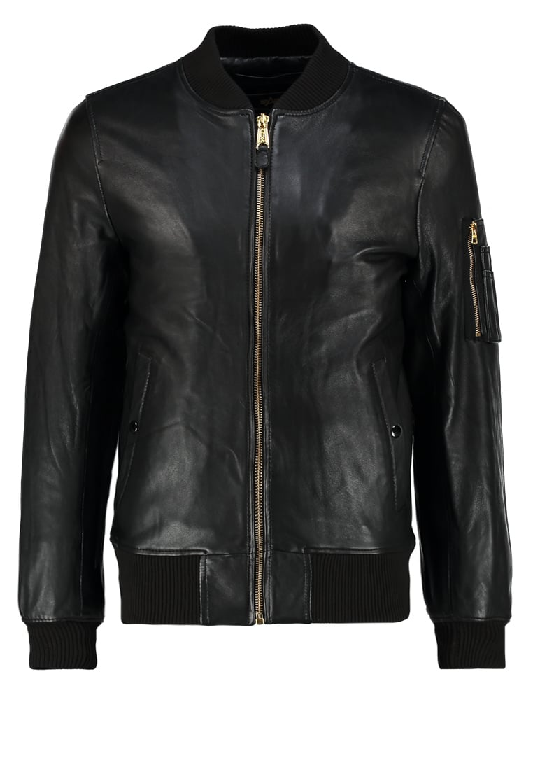 Alpha Industries Kurtka Bomber black - 168151