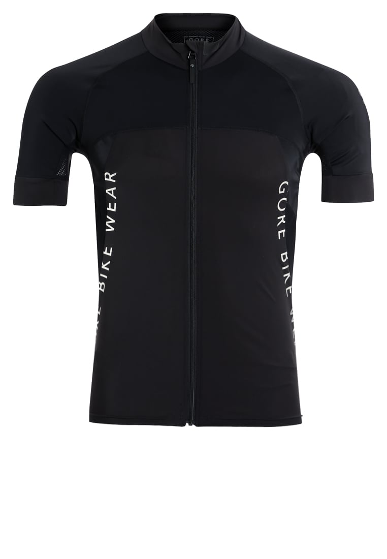Gore Bike Wear ALPX Tshirt z nadrukiem black - SPRALP