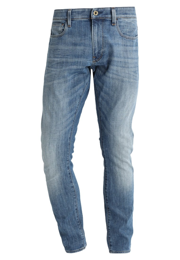 GStar 3301 DECONSTRUCTED SUPER SLIM Jeansy Slim Fit aiden stretch denim - D01159