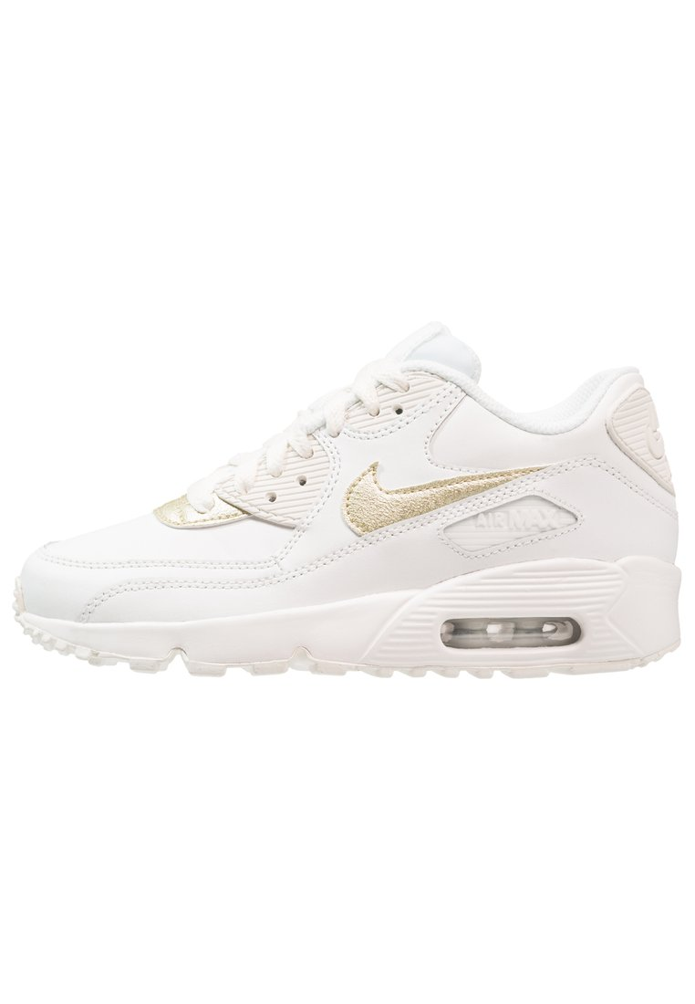 huge discount c8b51 238e7 trampki, Nike Sportswear AIR MAX 90 Tenisówki i Trampki summit  white metallic gold star