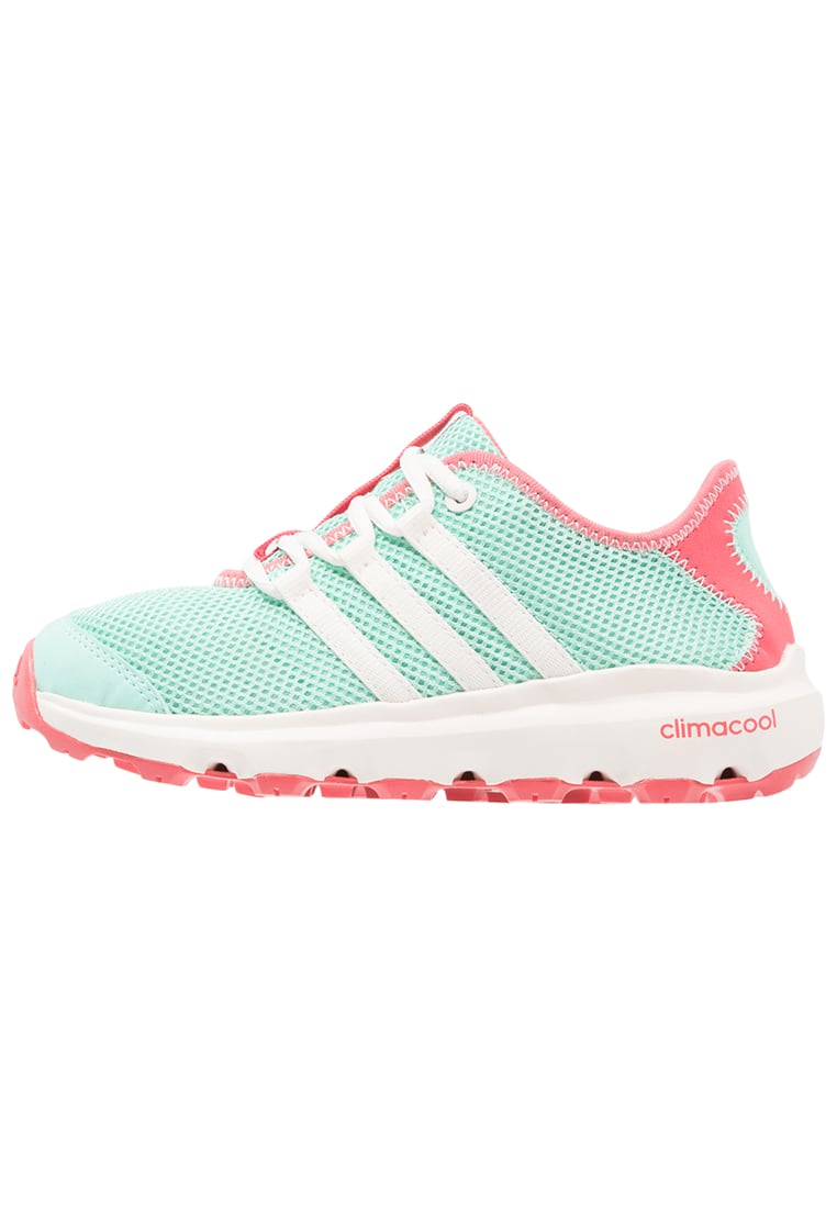 adidas Performance TERREX CC VOYAGER Buty hikingowe easy green/chalk white/tactile pink - IJP76