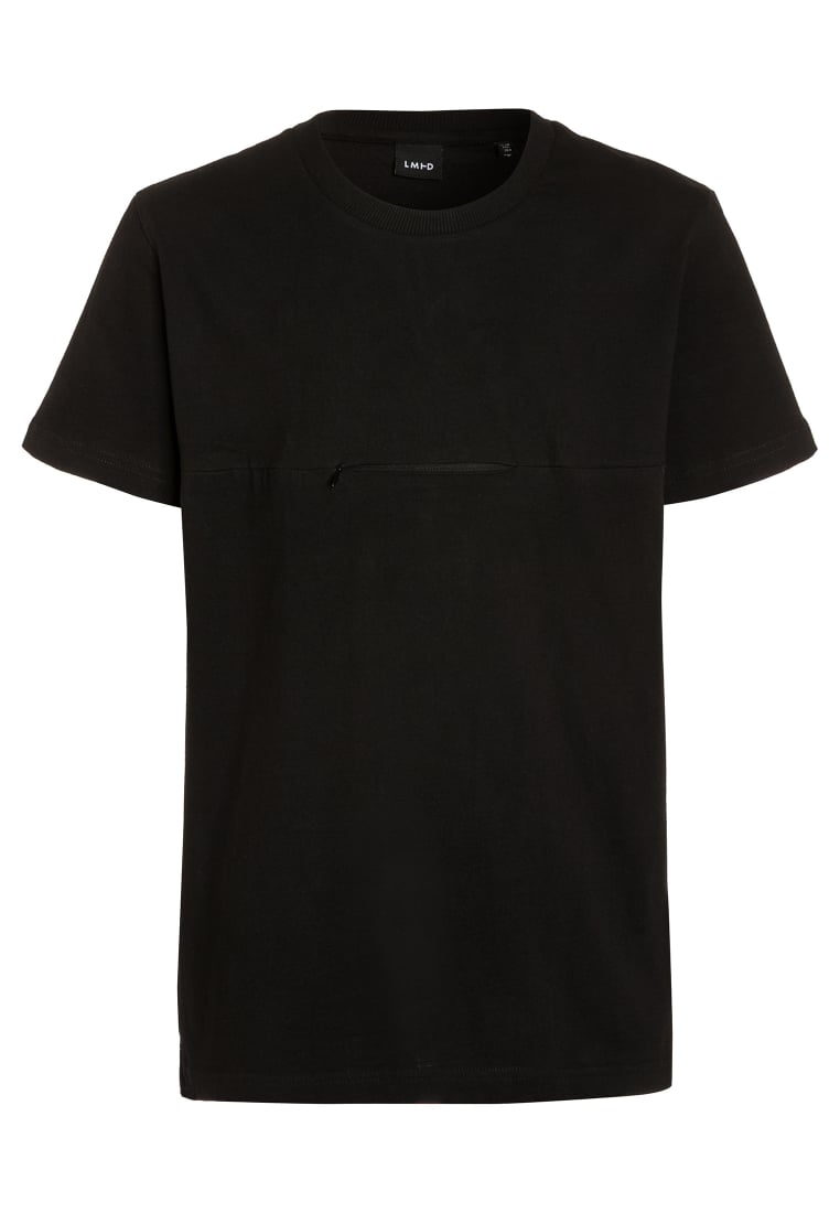 limited by name it NITLASS Tshirt z nadrukiem black - 13137519