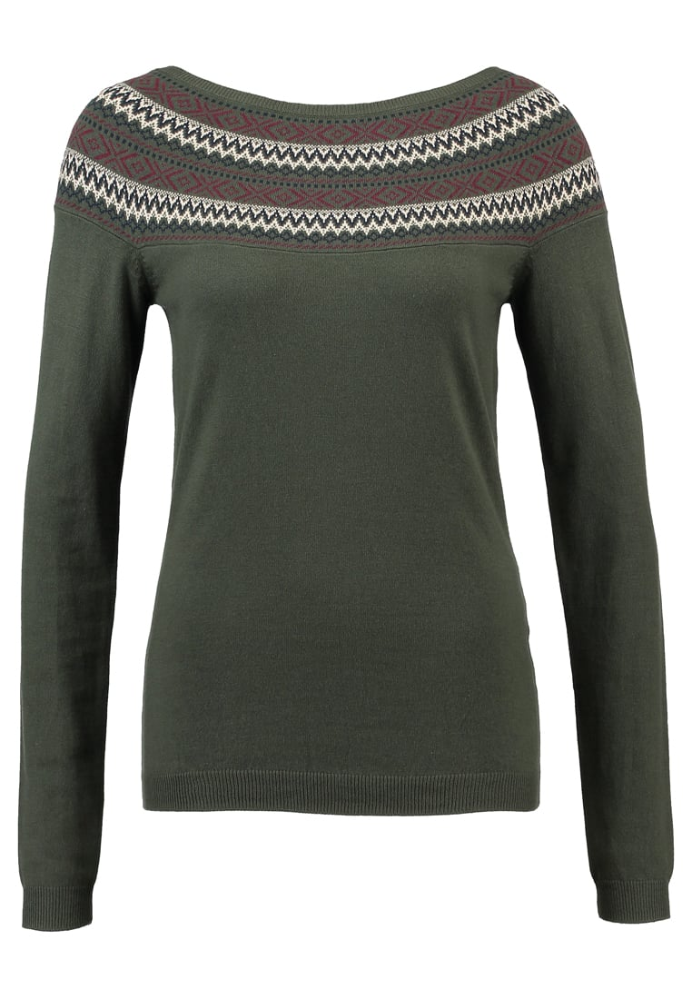 mint&berry REPEAT Sweter dark green
