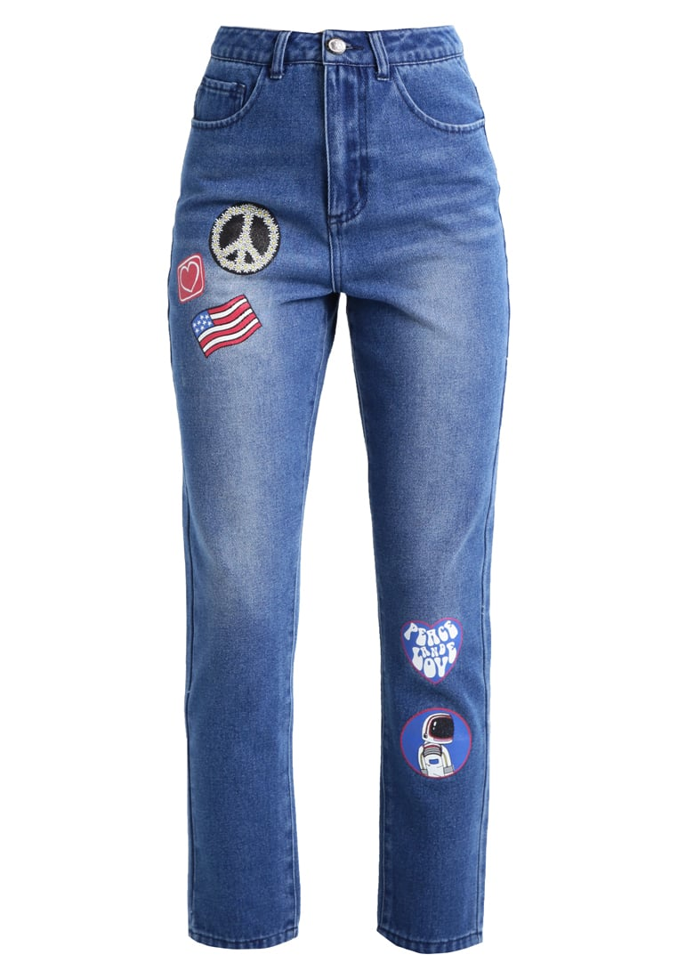 Daisy Street Jeansy Relaxed fit denim blue - NBB184