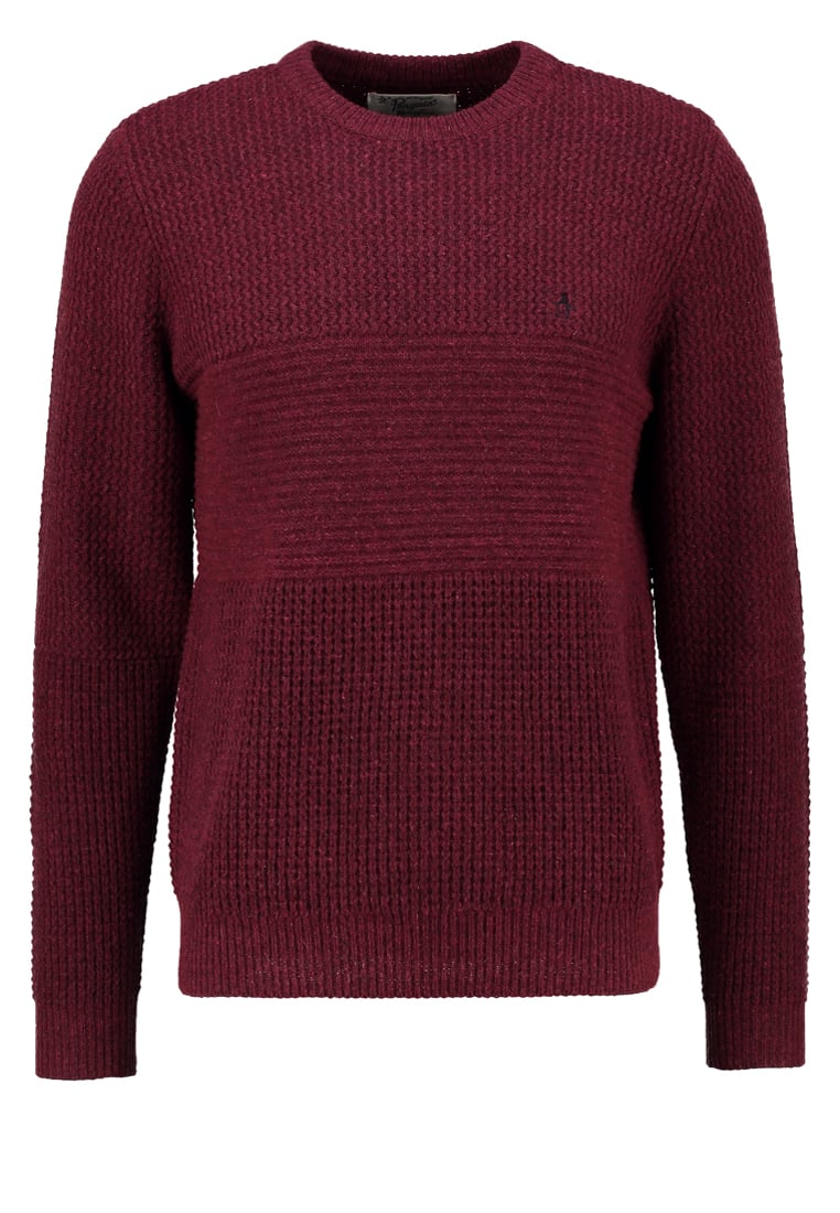 Original Penguin Sweter pomegranate - OPGF6112