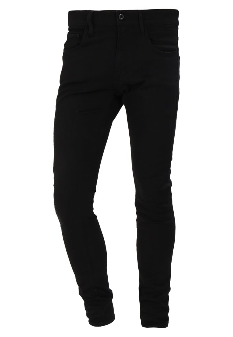 GStar 3301 DECONSTRUCTED SUPER SLIM Jeans Skinny Fit black - D01159