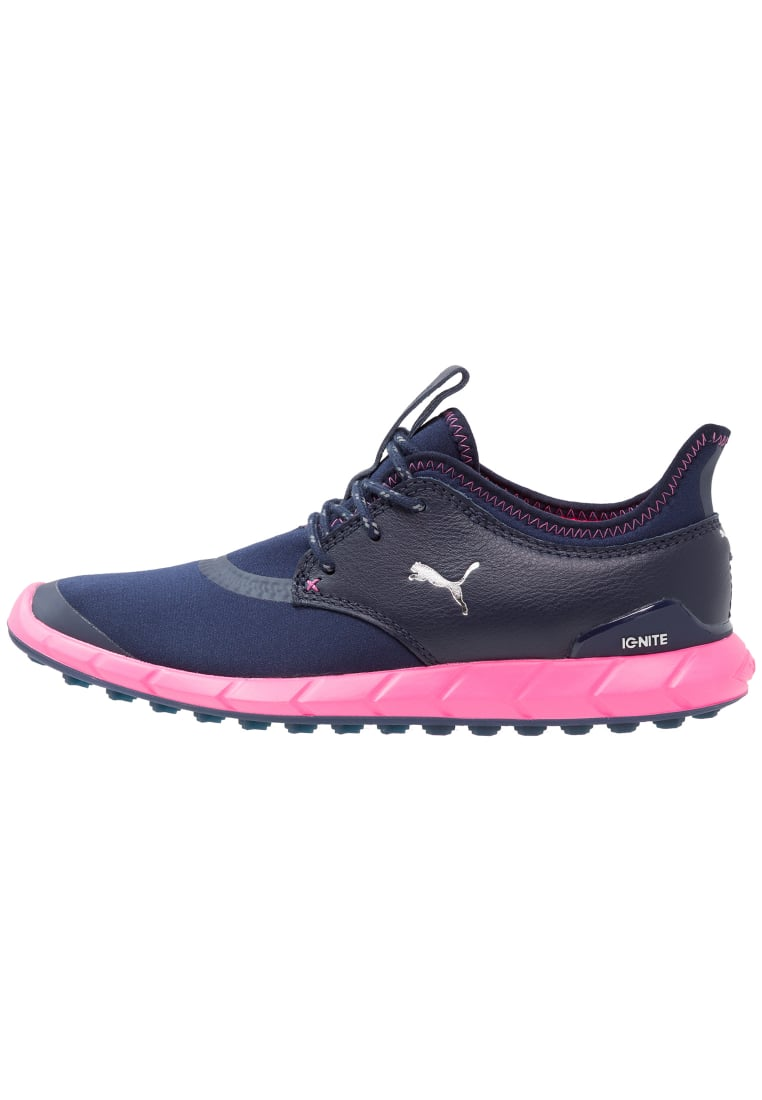 Puma Golf IGNITE SPIKELESS SPORT Buty do golfa peacot/silver/knockout pink - 189422