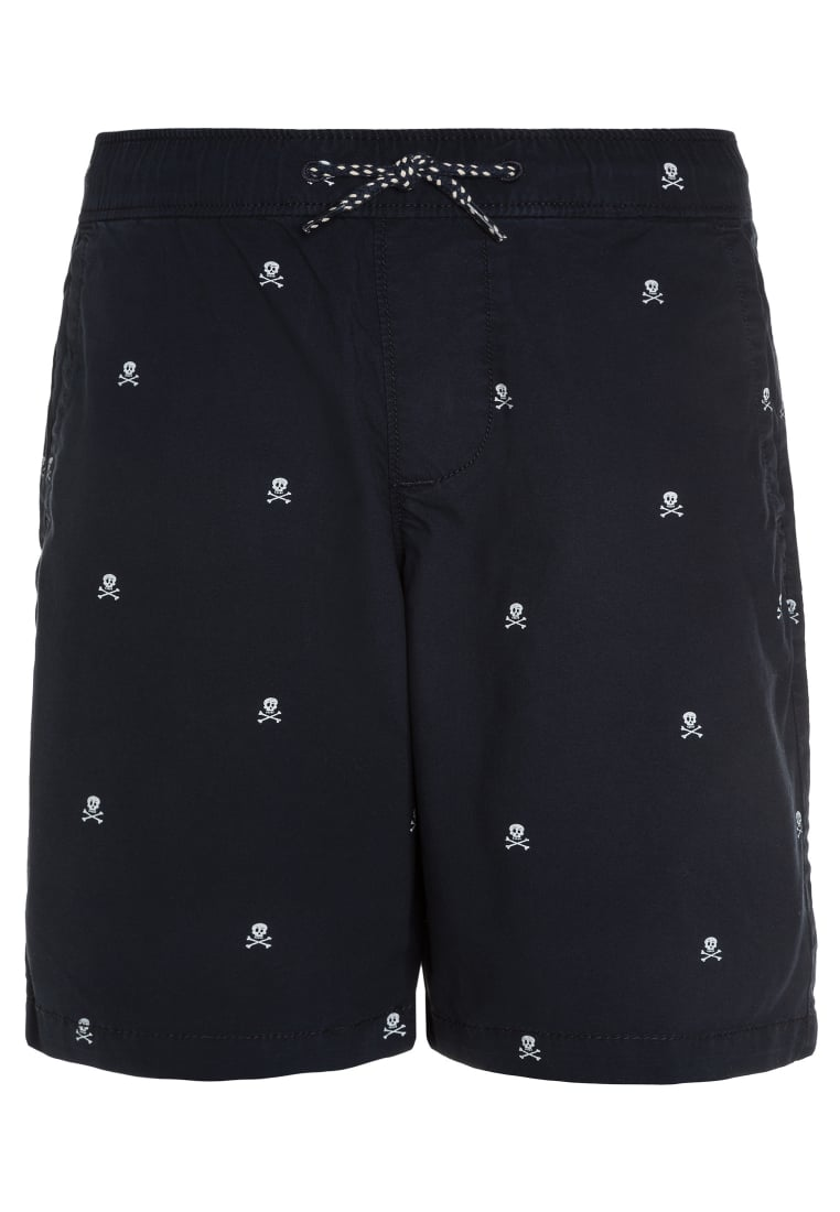 Abercrombie & Fitch Szorty navy - KI228-7002