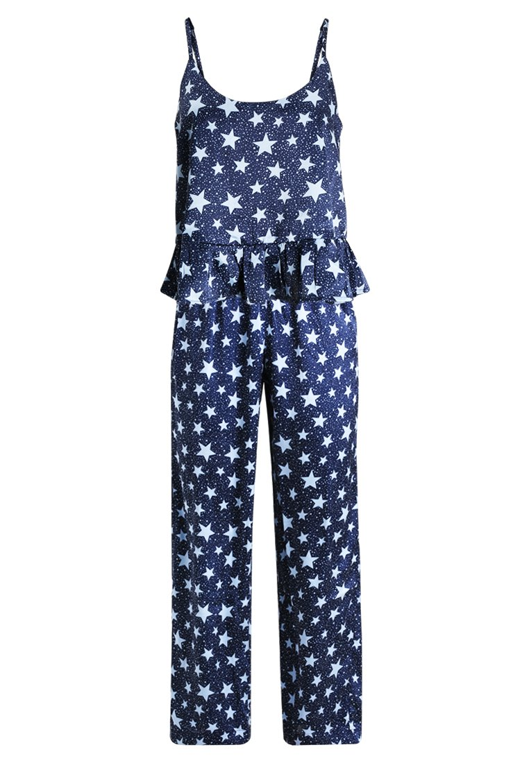 Topshop STAR PRINT SET Piżama navy blue