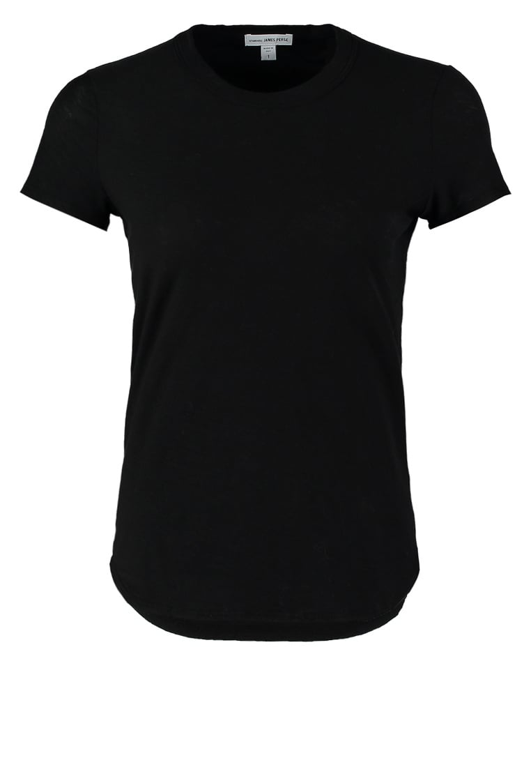James Perse Tshirt basic black - WUA3037