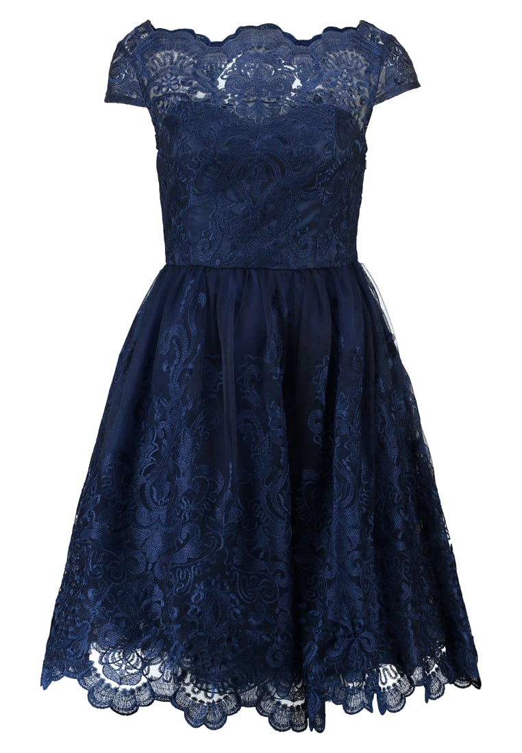 Chi Chi London Petite APRIL Sukienka koktajlowa navy - 41735PETKBL