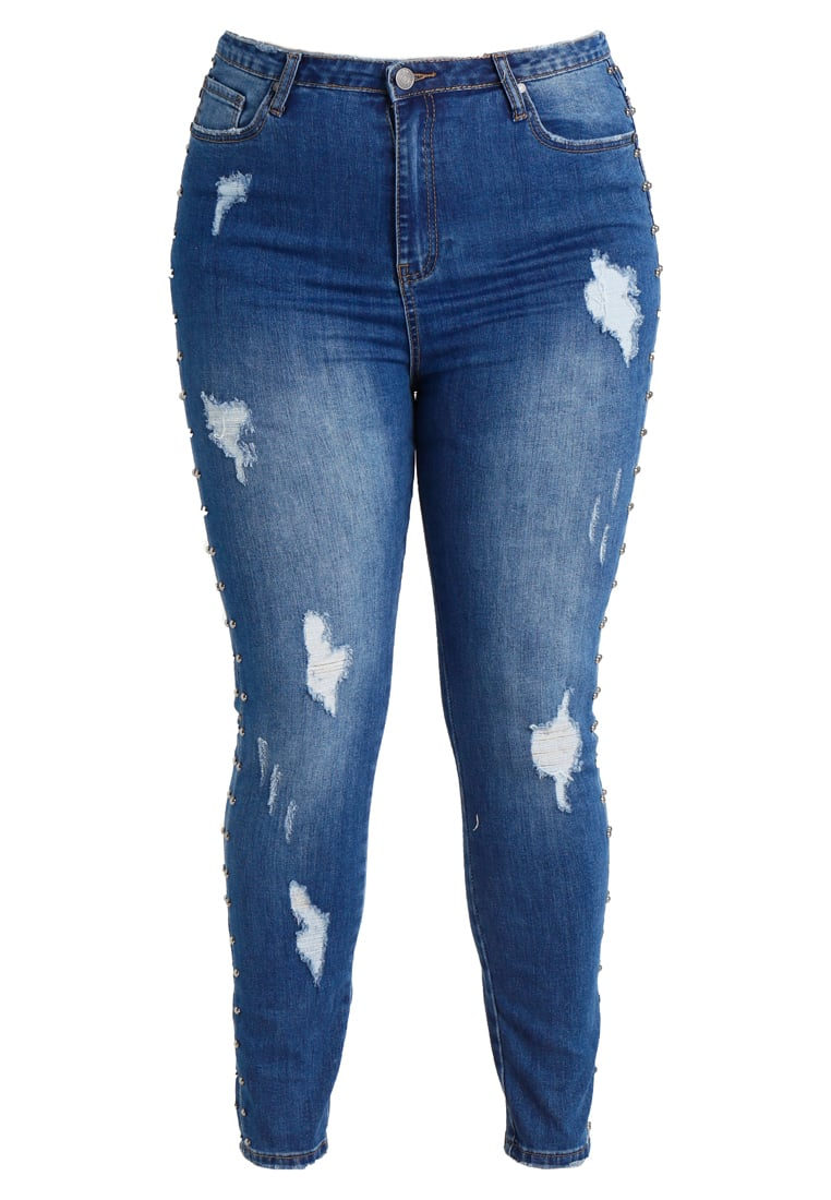 Missguided Plus Jeans Skinny Fit blue - WXV9772988