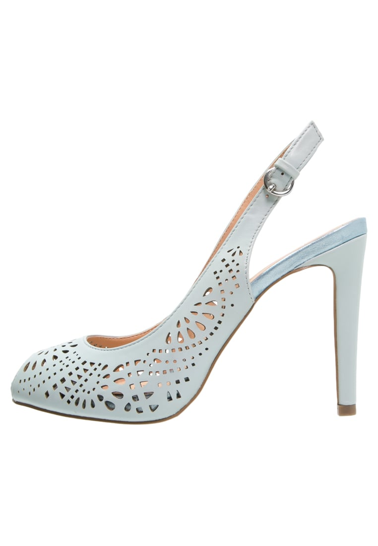 Anna Field Szpilki Peep Toe powder - ESO276