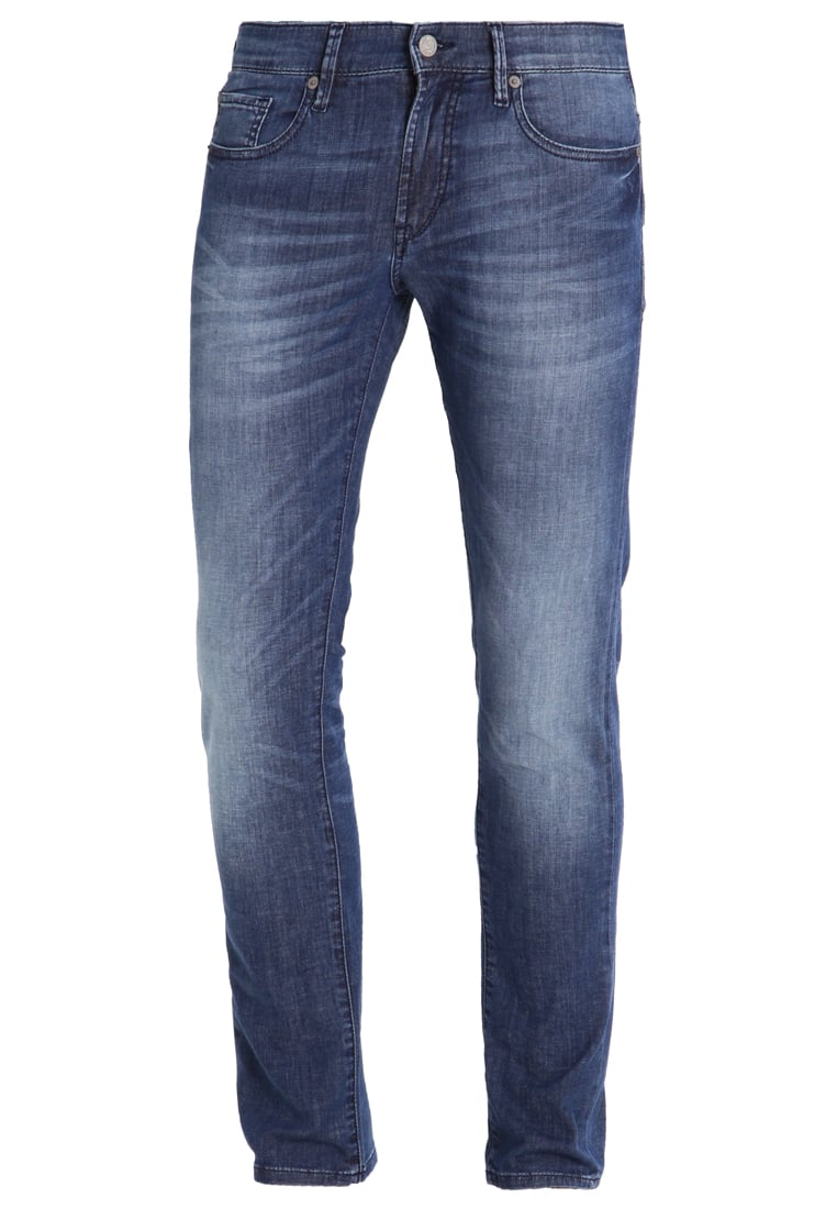 BOSS Orange Jeansy Slim fit blue - 50331914
