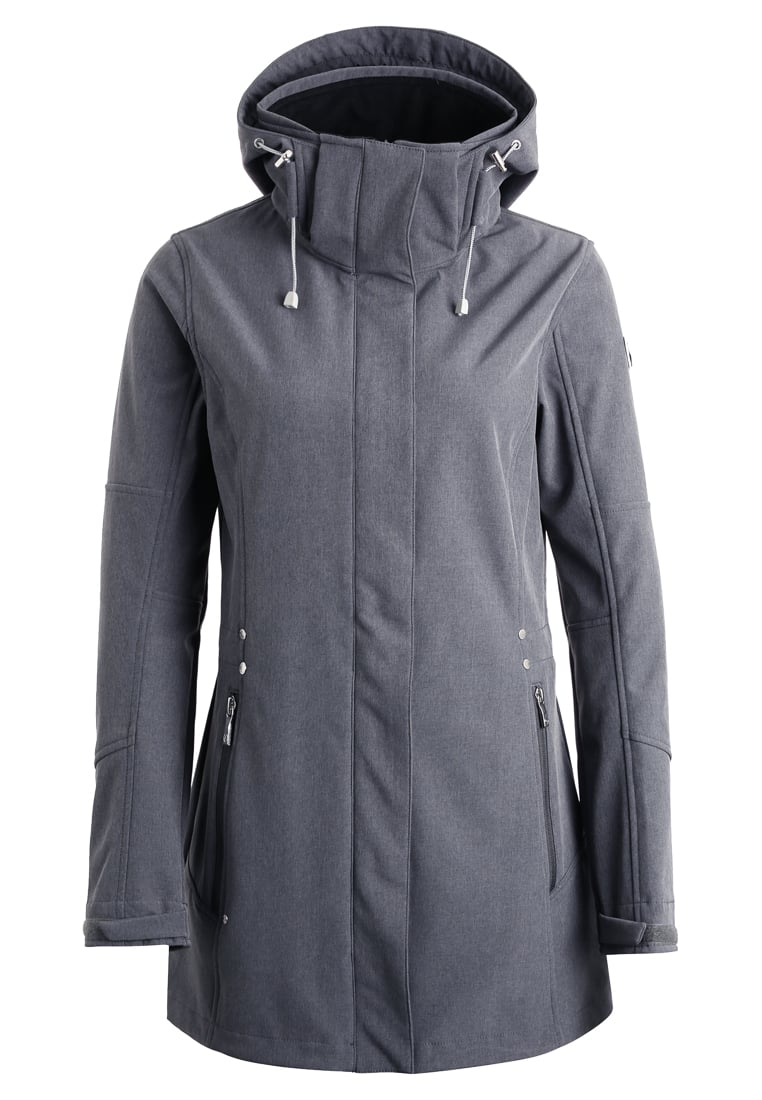 Luhta BRIA Kurtka Softshell lead grey