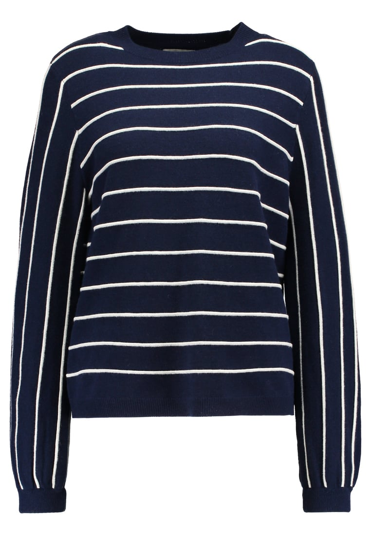 NORR Sweter navy