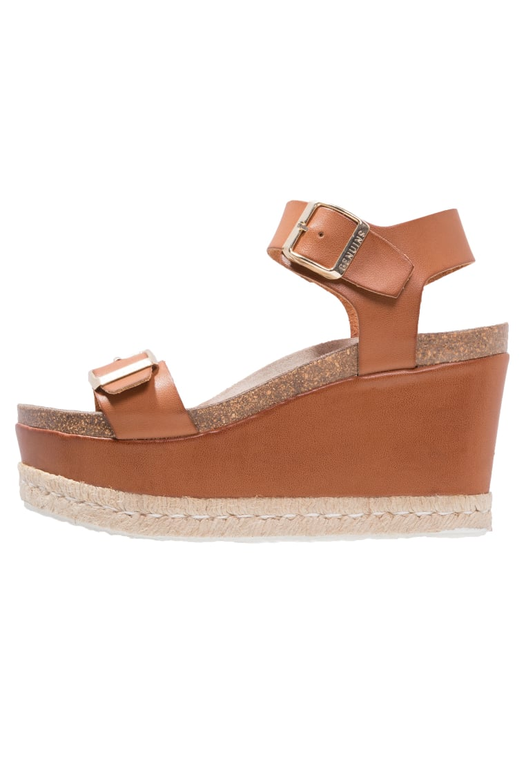 Genuins VENECIA Szpilki Peep Toe brown - 215.5.51401