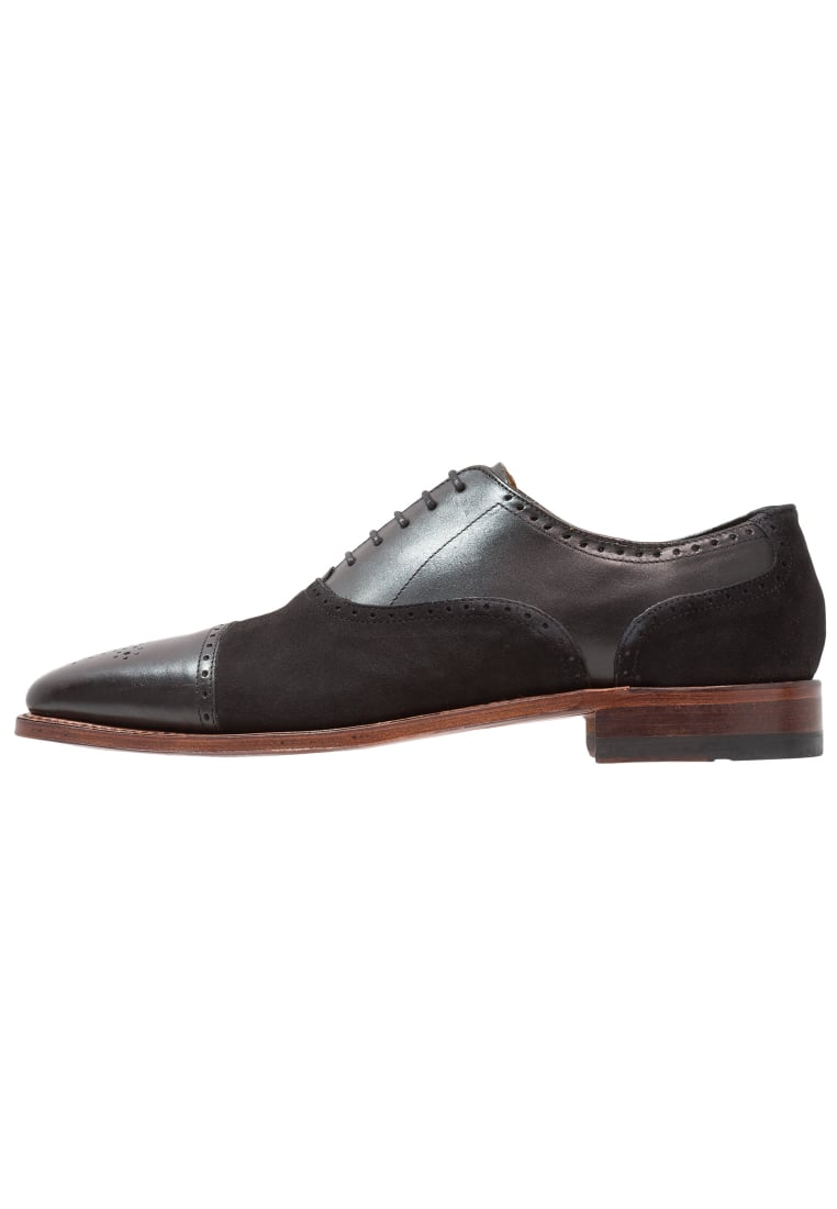 Gordon and Bros LUCQUIN Oksfordki black - 2830i
