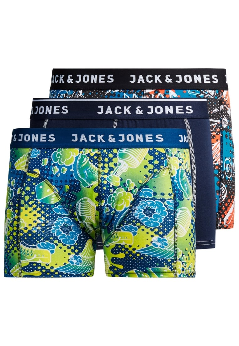 Jack & Jones 3 PACK Panty estate blue - 12118132