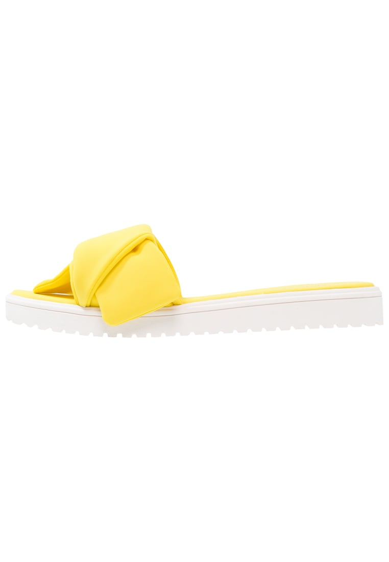 Nine West RUTH Klapki canary yellow