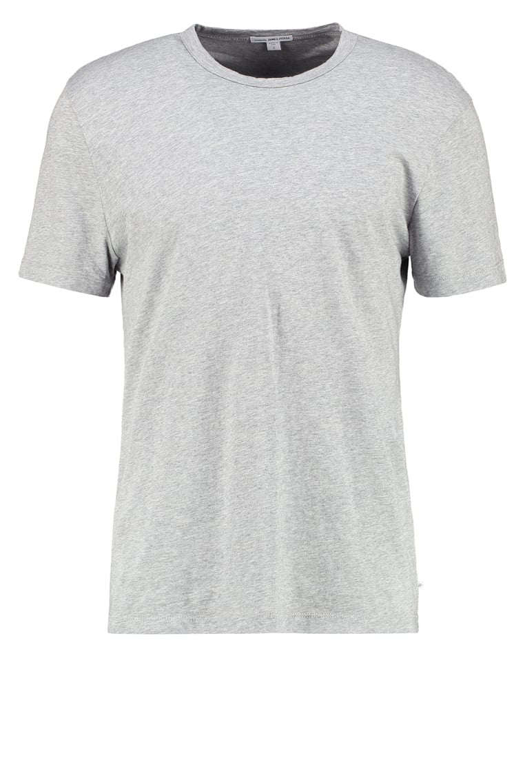 James Perse Tshirt basic heather grey - MHE3311