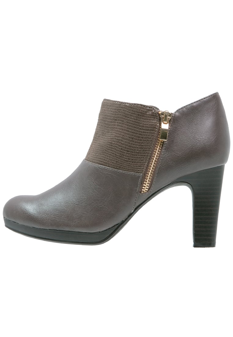 Divine Factory Ankle boot taupe - QL2618