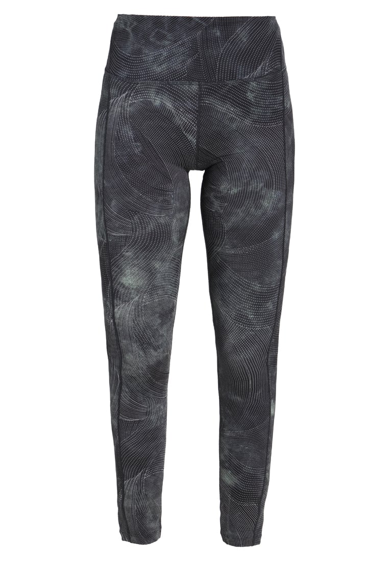 Free People REFLECTIVE GLOW FOR IT Legginsy blue combo