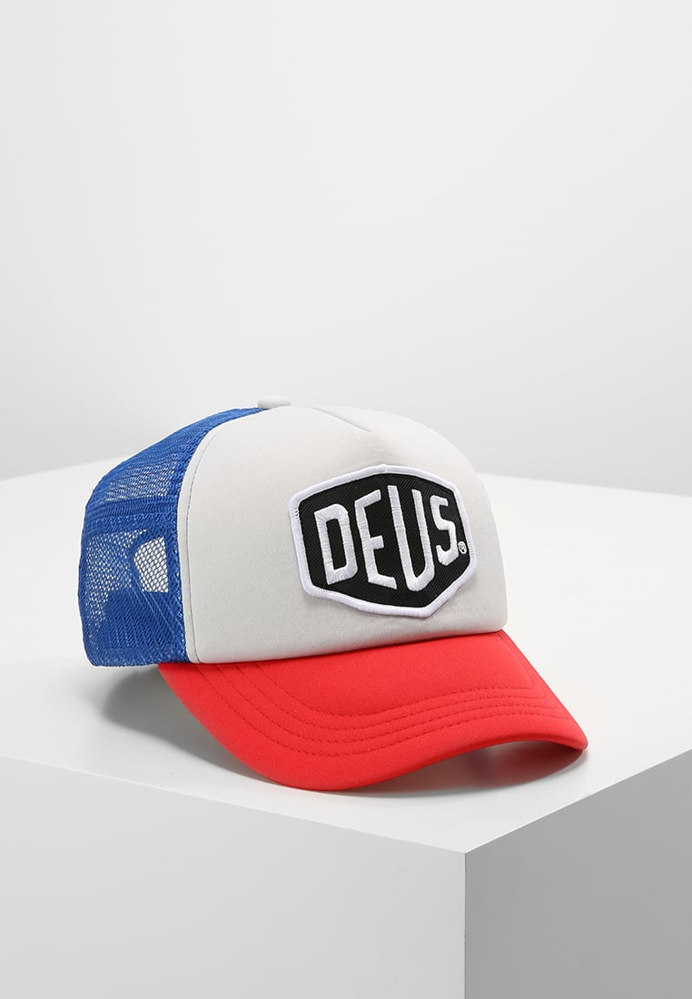Deus Ex Machina BAYLANDS Czapka z daszkiem blue/red - DEUS_IT_000041