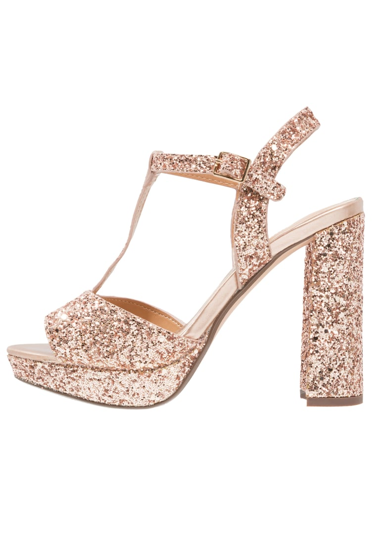 Head over Heels by Dune MISSY Sandały na platformie rose gold - MISSY