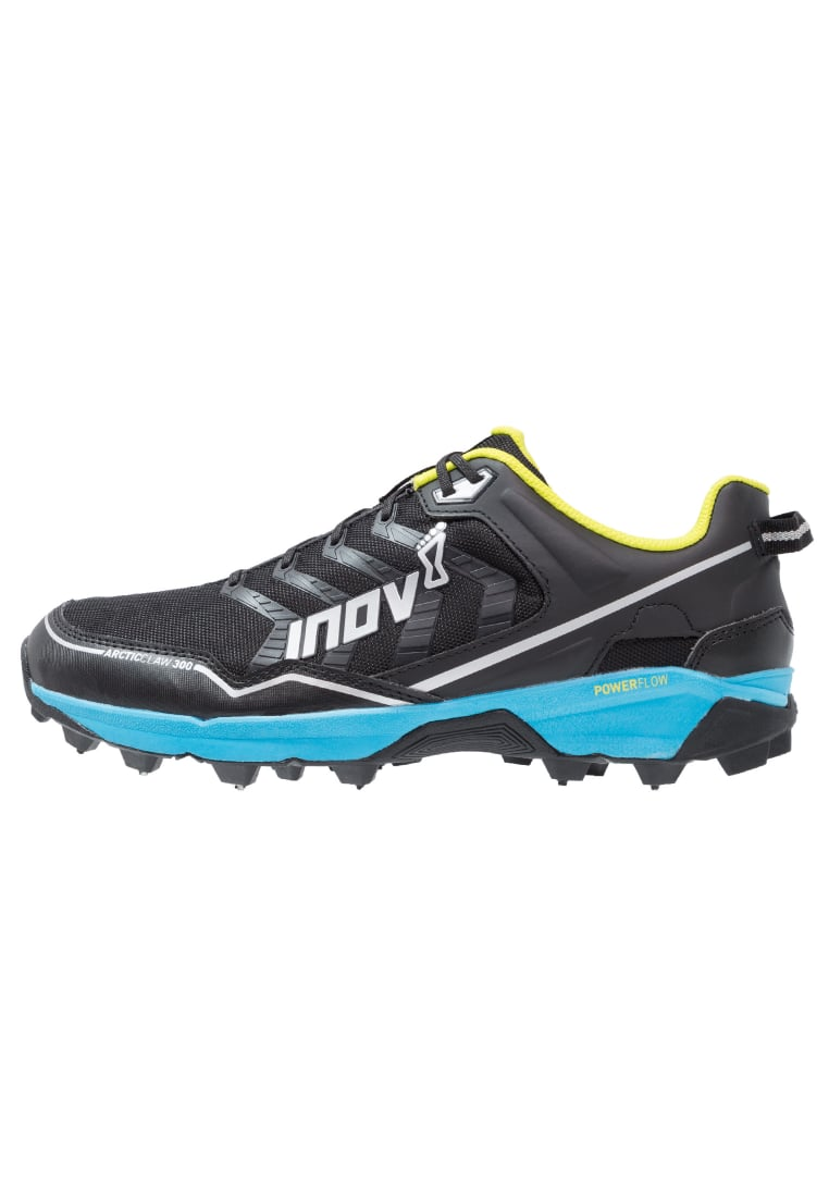 Inov8 ARCTIC CLAW 300 Buty do biegania Szlak black/blue/silver/yellow - 5054167423