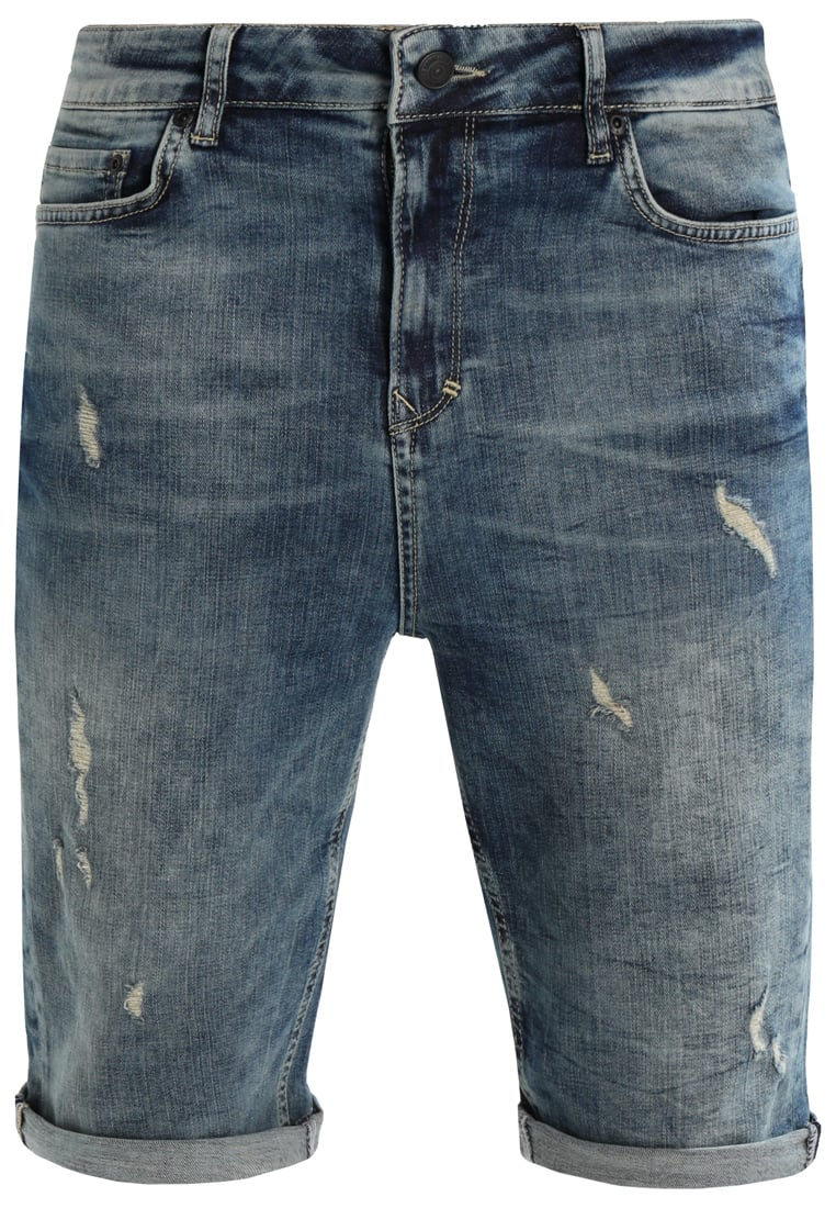 Brooklyn's Own by Rocawear Szorty jeansowe blue denim - BR-0317-M-0527