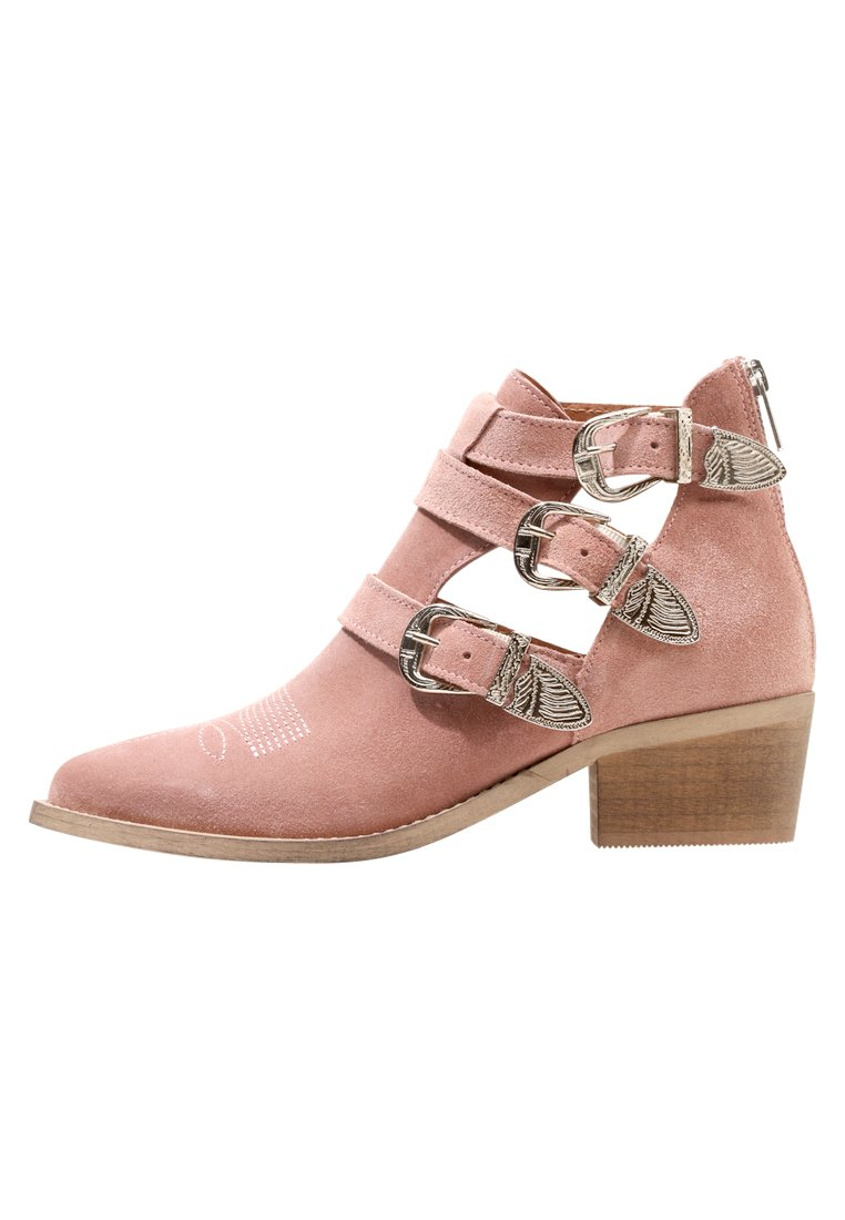 Pavement CARINA CUT Ankle boot rosa - 17033