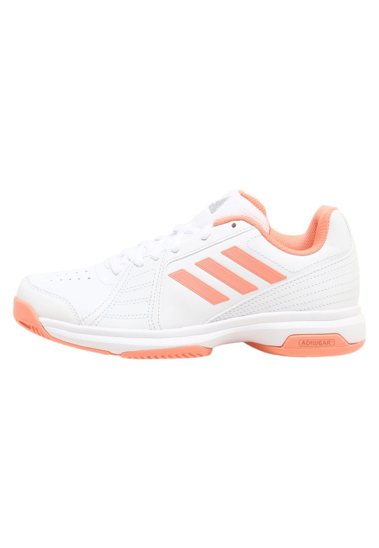 adidas Performance ASPIRE Buty multicourt white/chacor/silver metallic - CDA46