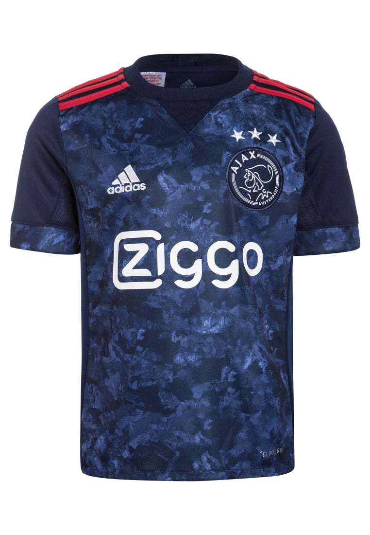 adidas Performance AJAX AMSTERDAM AWAY Artykuły klubowe dark blue/bold red - BWM54