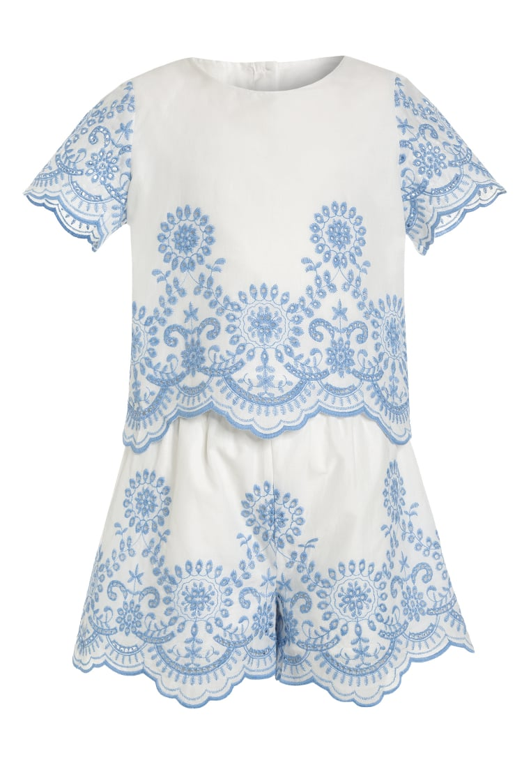 mint&berry girls SET Szorty white - MB19