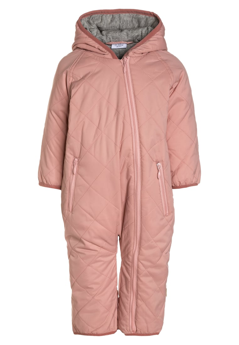 Hust & Claire OUTERWEAR BABY Kombinezon zimowy rose - 29736362