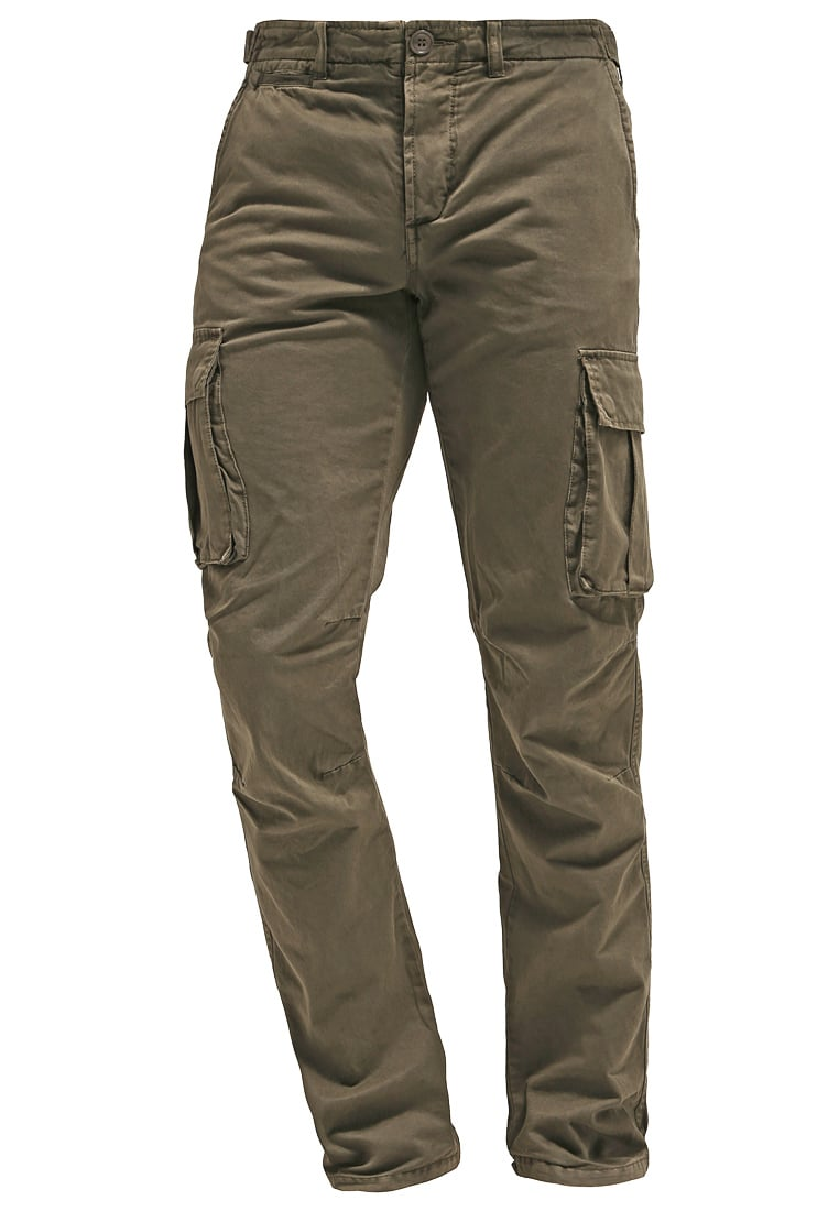 HARRINGTON Bojówki khaki - CARGO PANTS